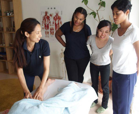 Therapists skills exchange in Tokyo